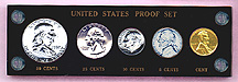 U.S. Proof Set Capital Plastic Holder