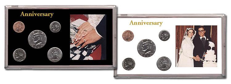 Capital Plastics Holder  # 32 in DARK BLUE for Birth Year Coins