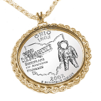 coin jewelry bezel angel grape
