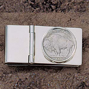 Nickel Money Clip 21.5mm