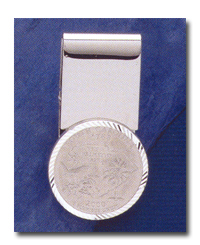 Quarter 24mm Money Clip