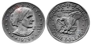 Susan B. Anthony Dollars (1979 - 1981)