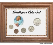 Birth Year Coin Sets Frame