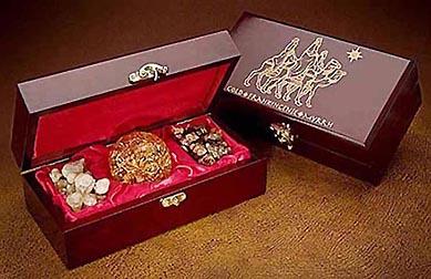 CenterCoin.com | Three Kings Gifts Gold Frankincense Myrrh ...
