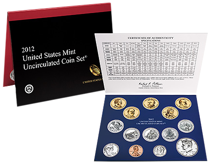 2012 Uncirculated Mint Coin Set