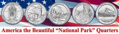 America the Beautiful National Park Quarters