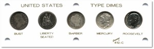 Dime Type Coin Set