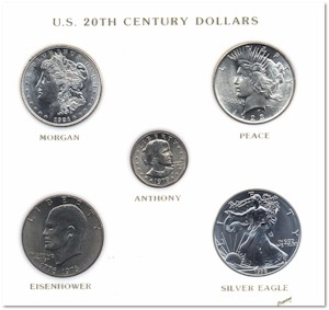 Dollar Type Coin Set