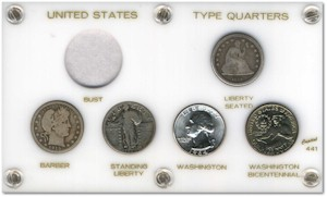 Quarter Type Coin Set
